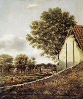 Daniel Vosmaer View of a Dutch town