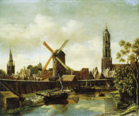 Daniel Vosmaer The harbour of Delft