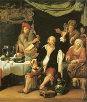 David Ryckaert III As the Old Sing, So Pipe the Young