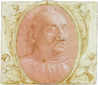 Domenico Ghirlandaio Head of an Old Man
