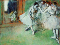Edgar Degas Group of dancers