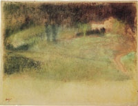 Edgar Degas - River banks