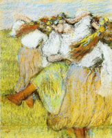 Edgar Degas Russian dancers