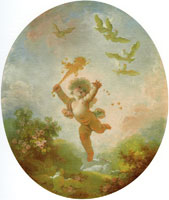 Jean-Honoré Fragonard Love as Folly