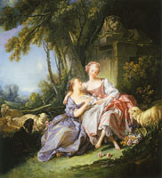 François Boucher The Love Letter