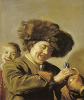 Frans Hals Two Laughing Boys