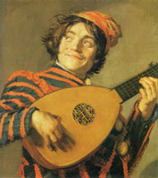 Frans Hals The lute player