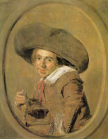 Frans Hals Young man with big hat