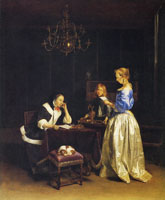 Gerard ter Borch The letter