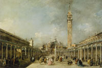 Francesco Guardi The Piazza San Marco, Venice