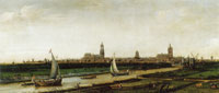 Hendrick Cornelisz. Vroom View of Delft from the Northwest