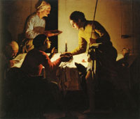 Hendrik ter Brugghen Esau Selling his Primogeniture