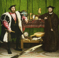 Hans Holbein the Younger - Jean de Dinteville and Georges de Selve