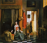 Pieter de Hooch The Mother