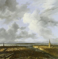Jacob van Ruisdael Panorama of Amsterdam