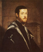 Jacopo Tintoretto Portrait of a Man