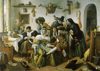 Jan Steen In Luxury Beware