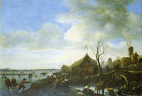 Jan Steen Winter Landscape