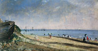 John Constable Brighton Beach