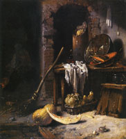 Willem Kalf - The Kitchen