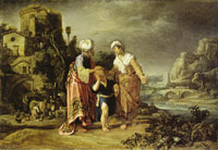 Pieter Lastman The dismissal of Hagar