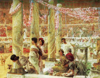 Lawrence Alma-Tadema Caracalla and Geta
