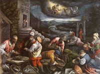 Attributed to Leandro Bassano and workshop The Element of Water
