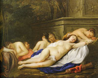 Jacob van Loo Diana and her nymphs