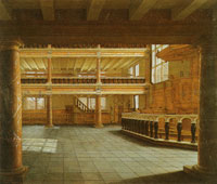 Anthony de Lorme Interior of the Remonstrant Church in Rotterdam