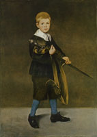 Edouard Manet Boy with a Sword
