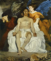 Edouard Manet The Dead Christ with Angels
