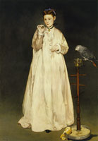 Edouard Manet Young Lady in 1866