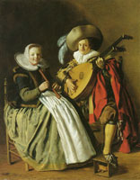 Jan Miense Molenaer The Duet