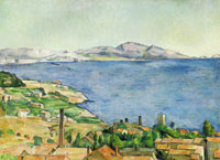 Paul Cézanne The Gulf of Marseilles Seen from L'Estaque