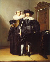 Pieter Codde Double Portrait of a Married Couple