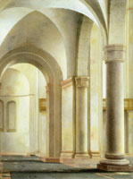 Pieter Saenredam - North aisle of the Mariakerk, Utrecht