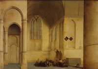 Pieter Saenredam - North transept of the St. Odulphuskerk, Assendelft