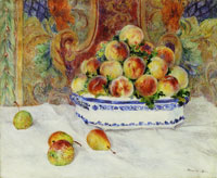 Pierre-Auguste Renoir Still Life with Peaches