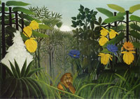 Henri Rousseau The Repast of the Lion