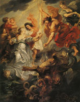 Peter Paul Rubens The Full Reconciliation