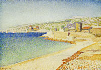 Paul Signac The Jetty at Cassis, Opus 198