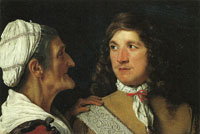 Michael Sweerts Young Gentleman and Procuress