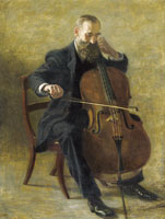 Thomas Eakins The Cello Player