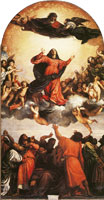 Titian The Assumption of the Virgin