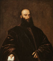 Titian Portrait of Jacopo Dolfin
