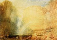 J.M.W. Turner High Force, fall of the Tees, Yorkshire