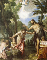 Paolo Veronese The Baptism of Christ