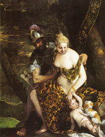 Paolo Veronese Venus, Cupid and Mars