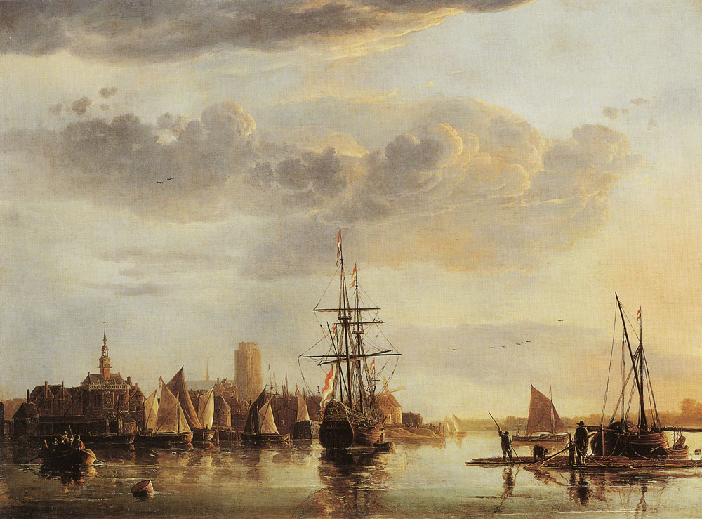 Aelbert Cuyp - Dordrecht from the North