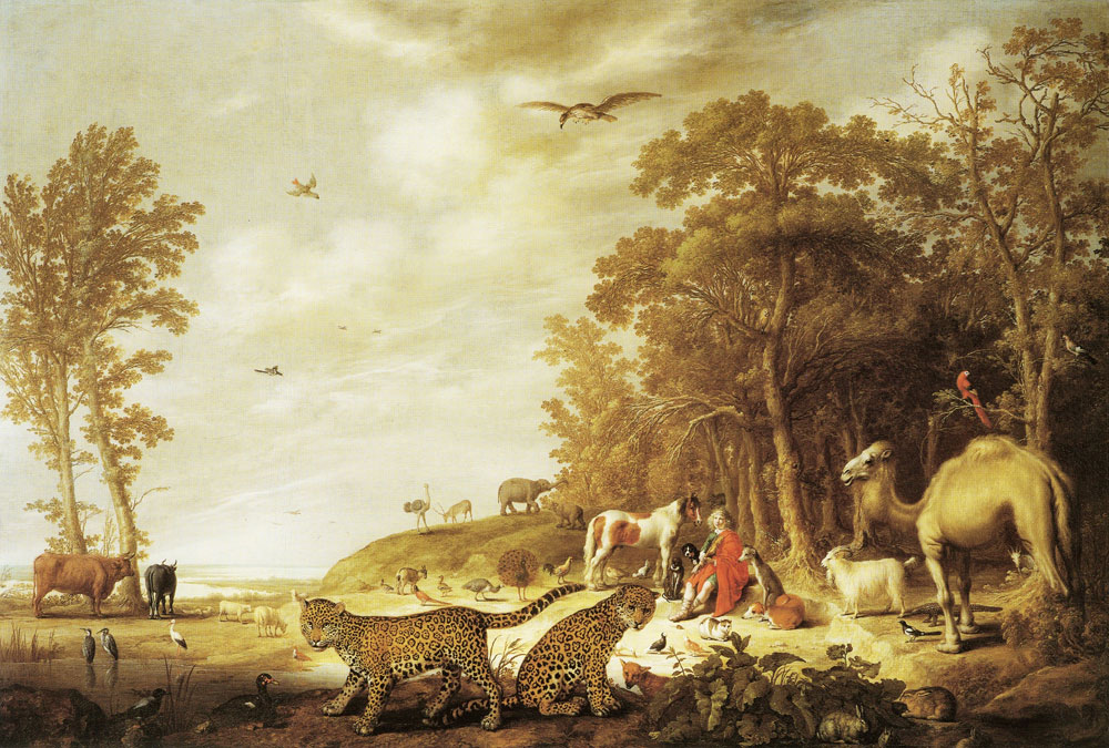 Aelbert Cuyp - Orpheus charming the animals
